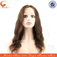 Cheap 16inch color 2# peruvian human hair wig ready to ship, middle part peruvian lace front wig density 130