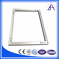 H Type Anodizing L Shaped Aluminum Extrusion for Picture Frame