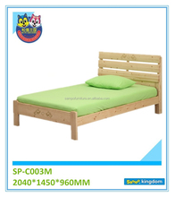 Bedroom furniture bed frames kids wood california king bed#SP-C003M