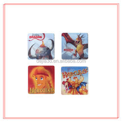 2015 hot sale fashion 3d lenticular pp/pet Plastic material stickers