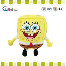 Custom plush cartoon characters plush Sponge Bob&Patrick toys