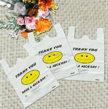weifang top sell T-shirt plastic shopping bag