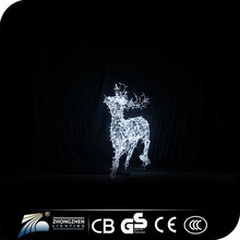 Factory supply outdoor lightting 1000X500CM acrylic figures