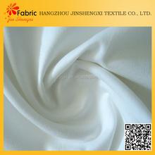 New design cheap solid white colored bulk satin fabric