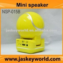 mini foldable speaker ball shape, factory