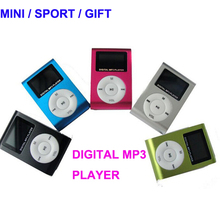 New design driver digital clip mini bluetooth mp3 player for jogging