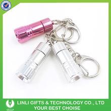Custom Engraved Logo Mini Torch Led Key chain