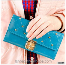 new products purse,women wallet ,rivet purse