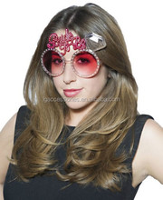 2015 new Hen Night Party BRIDE TO BE Fun Plastic Hot Pink Bling Diamante effect Glasses party supply