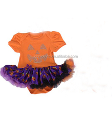 2015 baby clothes halloween tutu dress rompers for wholesale