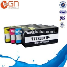 HOT SELLING ! 711 refillable cartridge for hp T120 T520
