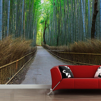 Best selling home decor bamboo 3d wallpaper