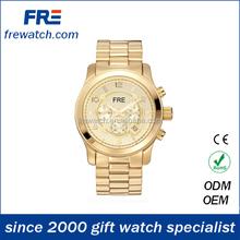 2015 fashion design high quality alloy wrist watch men popular metal mens watch