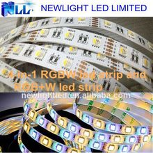 2015 Best 4-in-1 RGBW led strip light with RGBW 5050 led