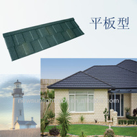 Soncap Certificate Nigeria hot sale roof shingle for house / stone coated roof tile/roof tile manufacturer in guangdong China