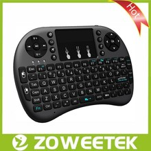 Rii Mini Backlit Keyboard 2.4g RF Wireless with Touchpad