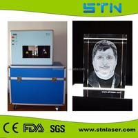 Shining 3D high speed laser etching glass machine