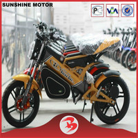 1500W Lithium Battery Sports Folding Electric Motorbike