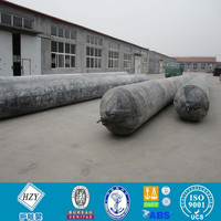 Marine natural rubber airbag used for wreck ship with CCS guarantee