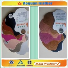 Genuine luxury good quality pvc leather for leather case