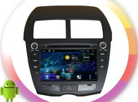 android 4.4 gps navigation system For Mitsubishi ASX (2010-2012) RDS ,GPS,WIFI,3G,support OBD,support TPMS