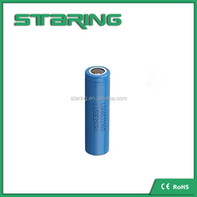 Best price LG rechargeable powder blue LGAAS3 18650 lithium ion battery cell 2200mAh 3.7v for LGAAS3