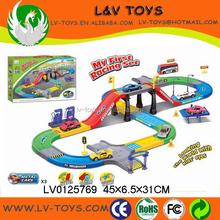LV0125769 Battery operated track set B/O slot car