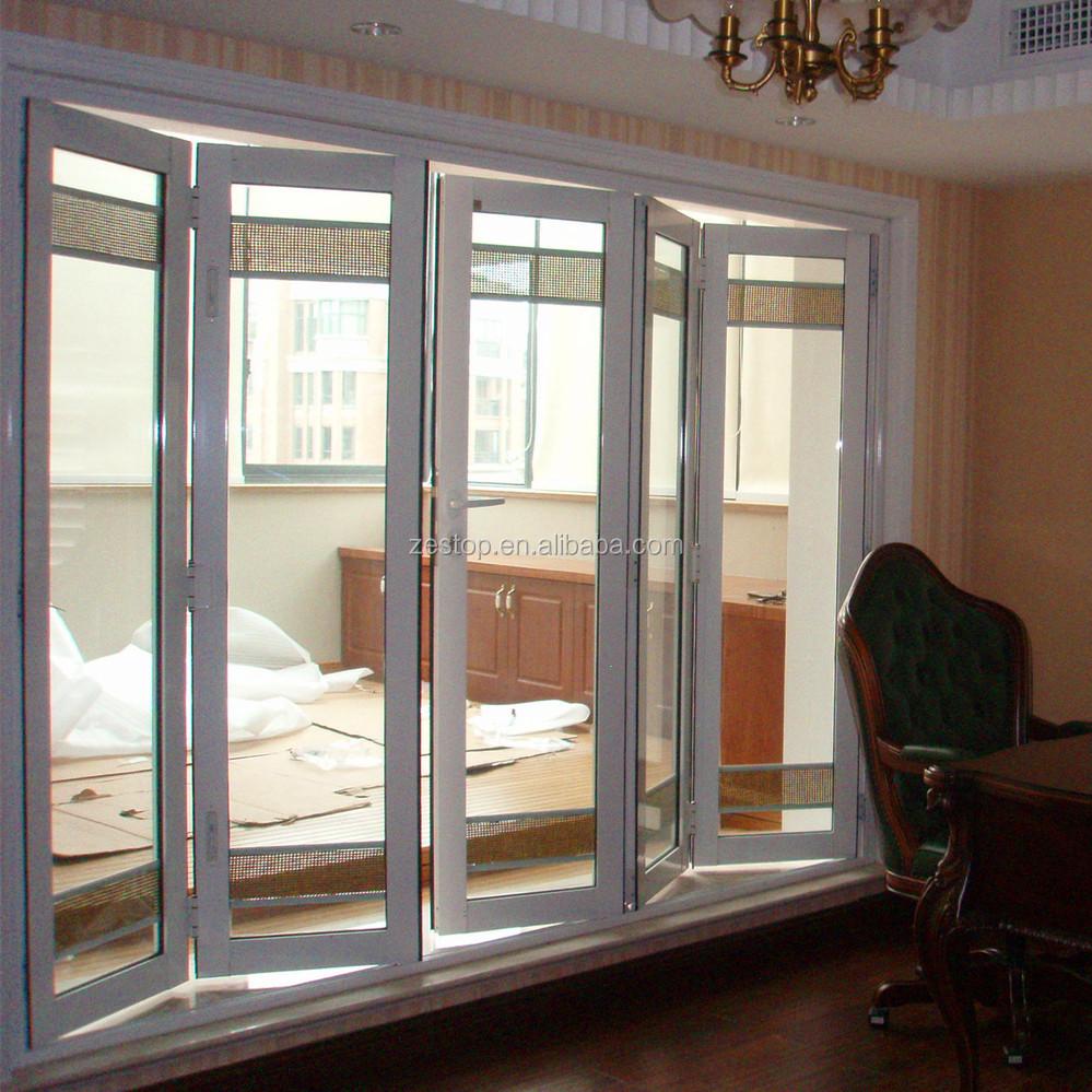 Insulated aluminium alloy folding cabinet doors buy folding cabinet doors folding doors - Accordion kitchen cabinet doors ...