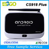 Hot Product desi tv box CS918 Plus RK3288 H.265 android 4.4 internet tv box
