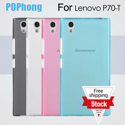 High Quality transparent TPU case for Lenovo P70-T soft TPU Clear Transparent Crystal Gel Silicone back cover protective shell