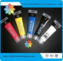 En71 lanxi colorlutions wholesale non toxic acrylic latex paint for draw