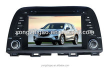 <YZG>8 inch high quality double din Touch Screen Car DVD for Mazda CX 5 Auto Media Player