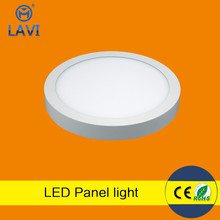 High lightness led panel light surface panel light 6w round and square sharp