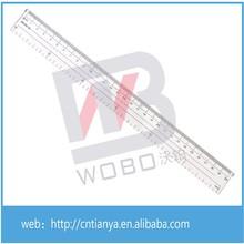 30cm tamaño de plástico regla de escala/regla de plástico blando