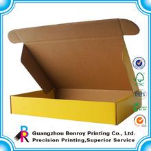 High quality E-flute corrugated paper custom printed shipping box