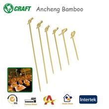 Bamboo Skewer Knotted