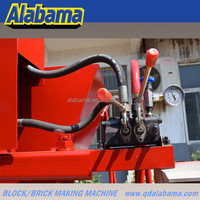 Hot sale ECO brava manual hydraulic interlocking brick making machine for sale