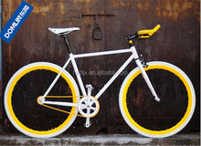 High Quality 4130 grade Cr-Mo steel 700C single speed fixed gear bike factory price