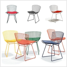 Classical Designing Harry Bertoia Wire Chair Side Chair with Welded Steel Wire