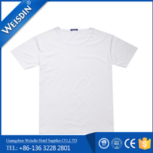 240 grams wholesale polyester/cotton mens body building t shirt