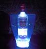 Portable color changing LED lighted ice bucket led beer bottle cooler