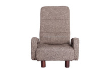 leisure modern style foldble low legs bed room living room single seat chenille fabric home furniture chair