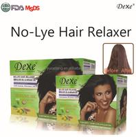 hair straightening cream rebonding/hair relaxer