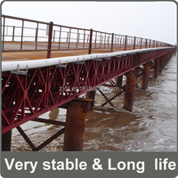 Bailey QSR- two lanes steel frame bridge