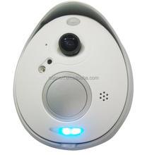 2015 CE ROHS FCC 2 way voice intercom 720P high definition wifi doorbell camera