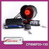 High quality competitive price 6 tone car alarm siren with plastic metal flip remote