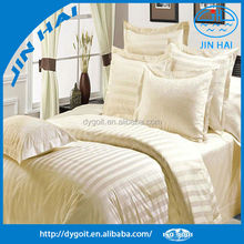 New fashion designed strip bedding set for Hotel bed comforters