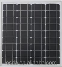 (ODA80-18-M) PV solar panel 80W 18v mono panel
