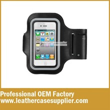 OEM brand factory custom sport armband case for iphone4