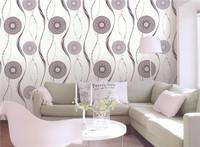 commercial morden coated design waterproof cheap 3d modern new heavy plain vinyl wallpaper